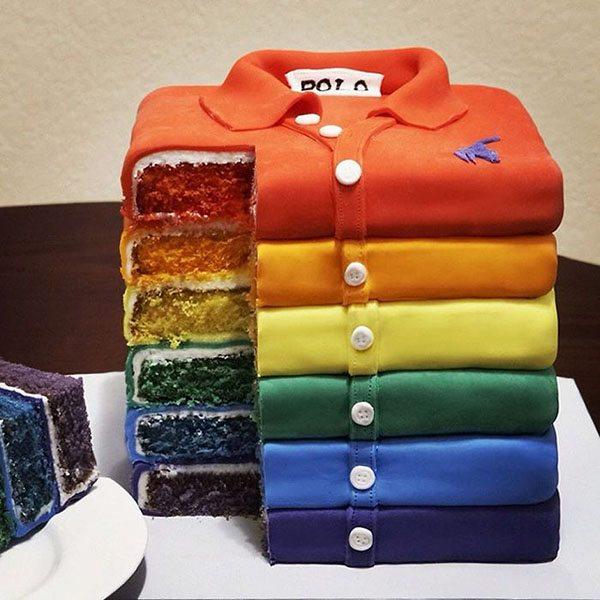 Deserturi pe alese Polo-shirt-cake