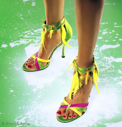 visoke potpetice... Greenfeet