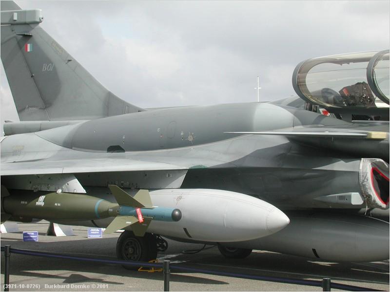كاشف الصواريخ للجيل الجديد DDM NG لمقاتلات رافال 3971