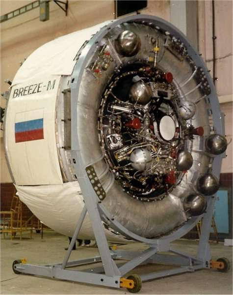Lancement Proton-M / Inmarsat-5F3 - 28 août 2015 Briz-M6big