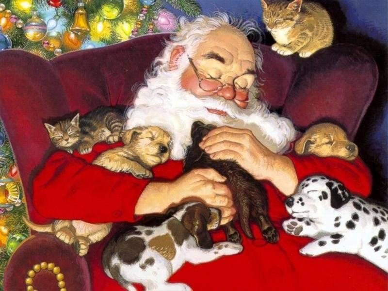 Le Origini del Natale e dei suoi Simboli: Babbo Natale, l'Abero di Natale  e tutti gli altri Babbo_natale_7