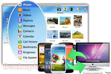 Undelete SMS Text Messages from Samsung Galaxy S4 Android-data-transfer-software