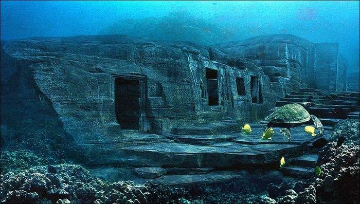 Загадочные подводные пирамиды в Японии Yionaguni