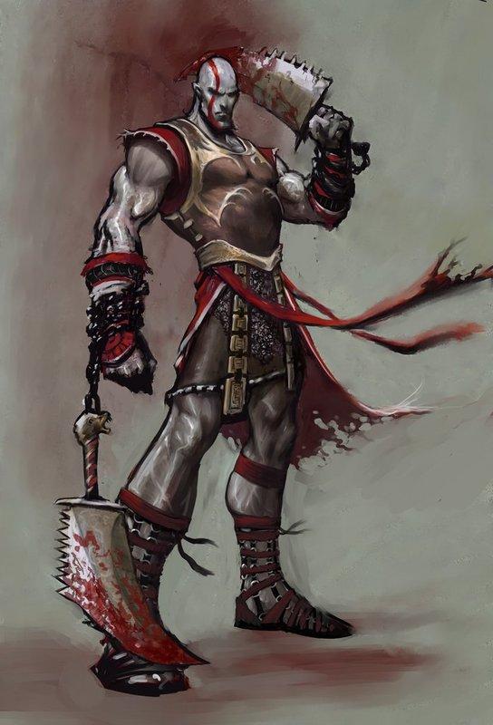 Characters Kratos-coolarmorkratos