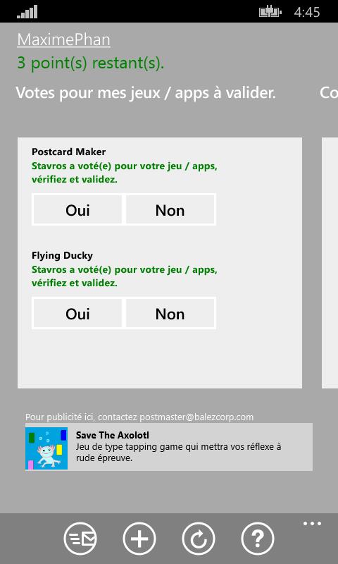 [APPS WINDOWSPHONE 8.1 - Exchange app reviews] Augmentez la visibilité de vos jeux et apps [Gratuit] 1