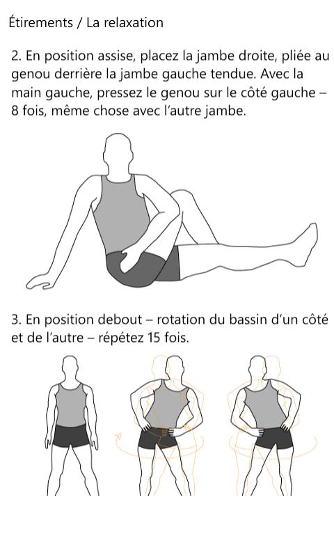 [APPLICATION WINDOWSPHONE - Stretching!] Après l'entrainement, étirez vos muscles [Gratuit] 3