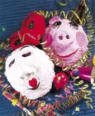 Maschere di Carnevale Cartapesta02
