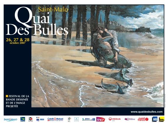 BD - Quai des Bulles 2007 - le 26,27,28 Octobre St-malo Jpg_affiche_quai_des_bulles_2007_horizontale