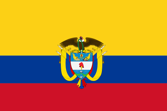 Bolivar - Noticias y  Generalidades - Página 31 Bandera-de-colombia-con-escudo