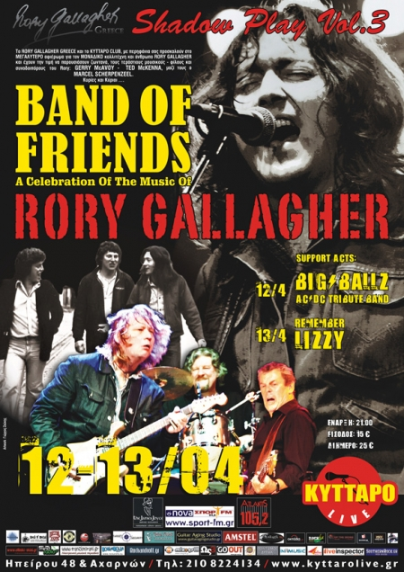 Band Of Friends - A celebration of the music of Rory Gallagher - Page 3 Greece