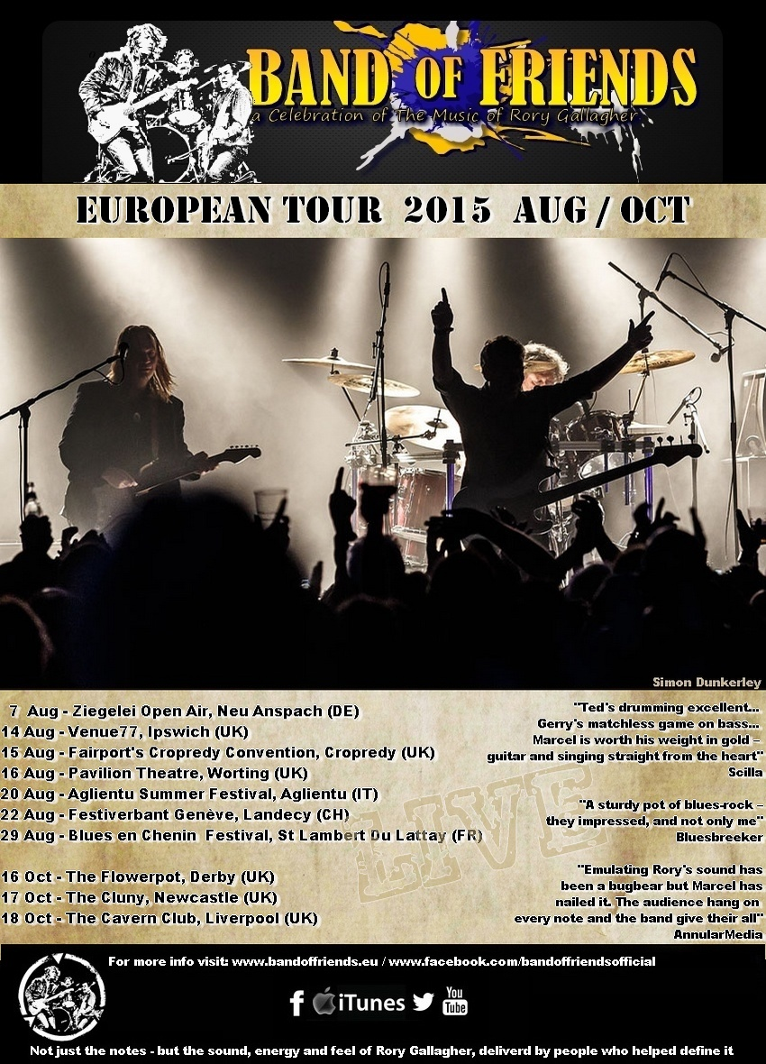 Band Of Friends - A celebration of the music of Rory Gallagher - Page 7 Tour_2015lrg