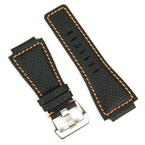 Bracelet pour ma rafale BellandRossWatchBandStrapBlkOrg.3