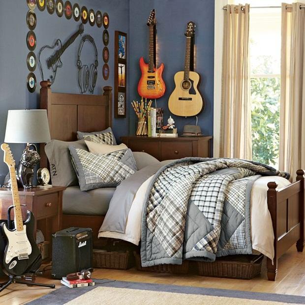 ห้องชายโสดแบบงงๆ ของ RamE128VP*L Bedroom-design-interior-for-teen009