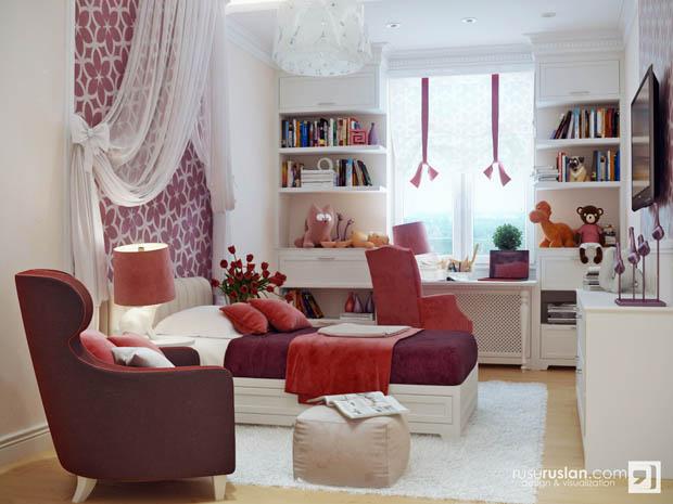 """ห้องพักของ""""นิโอเวีย""""ยินดีต้อนรับค่ะ Bedroom-RusuRuslan3"""
