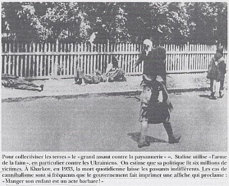 Holodomor en Ukraine le génocide par la faim; très peu connu Staline-1933