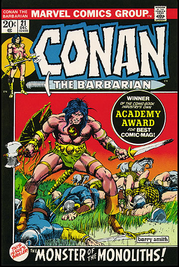Classic Comic Covers - Page 2 Conan21proof