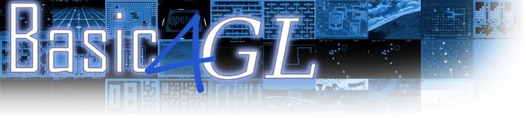 Basic4GL - Un Programa Para La creacion de Juegos Basic4GLBanner
