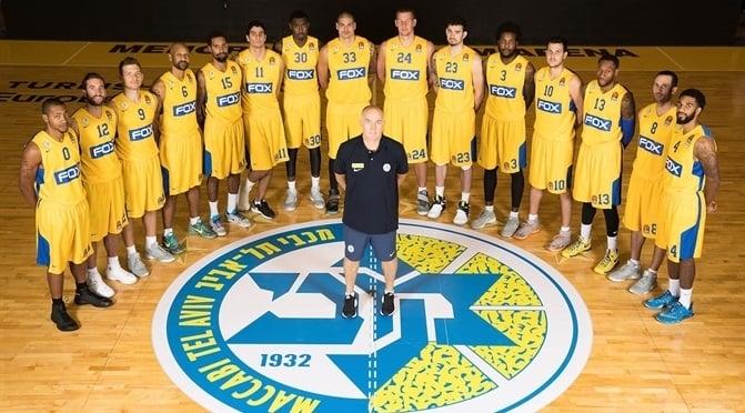 Euroliga J 15.Baskonia-Maccabi Tel Aviv.Jueves 29/12/16 a las 21:00 h Maccabi1617