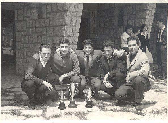 Reportaje:Los entrenadores del Baskonia desde 1959, de Vicente Elejalde a Pablo Prigioni Elejalde-Vasconia-61-62