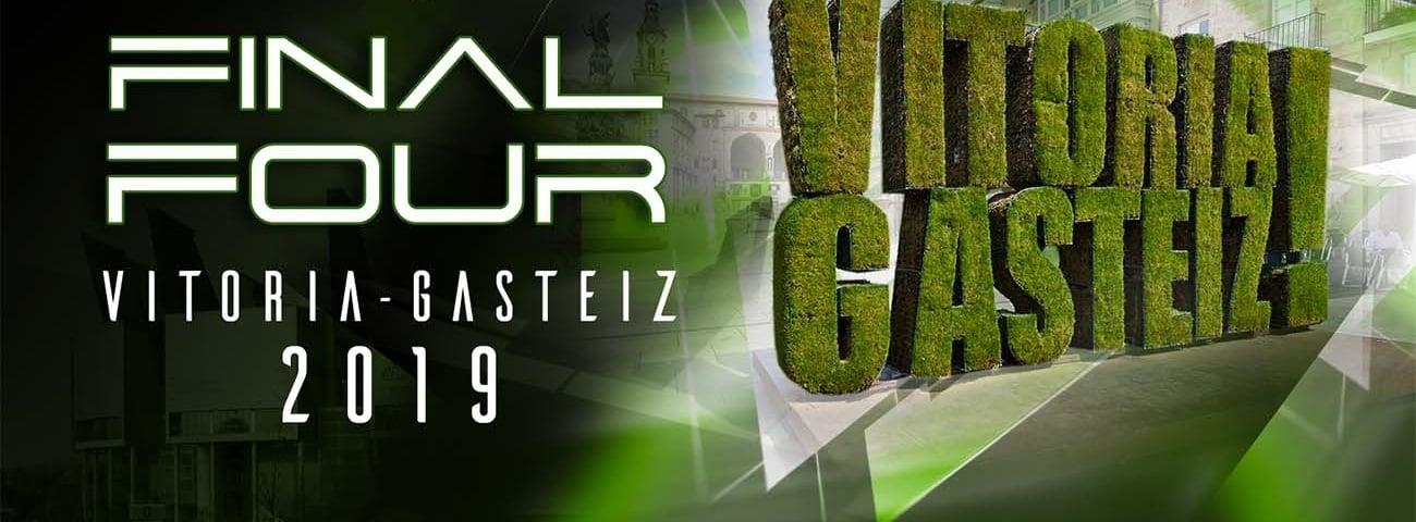 Vitoria-Gasteiz será la sede de la Final Four de la Euroliga de 2019 Vitoriaf4