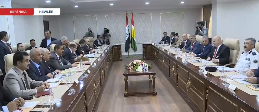 "Minister of Finance reveals the ""in-depth"" talks between Erbil and Baghdad next week on the oil of the region 69538544_2436139786675248_1486778104322981888_n"