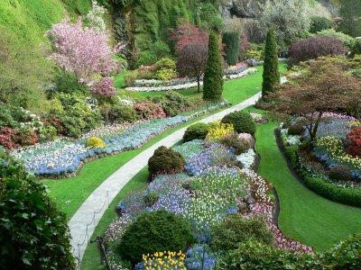 Najlepse baste dvorista i parkovi Butchart-garden-1