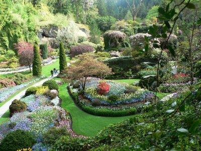 Najlepse baste dvorista i parkovi Butchart-garden-2