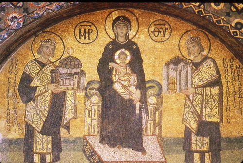 Misterija Svete Sofije Misterija-Svete-Sofije-Bogorodica-sa-Hristom-i-car-Justinijan-i-Konstantin-mozaik