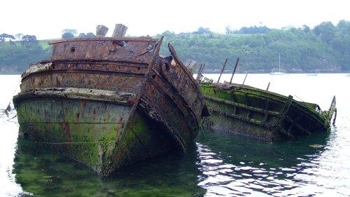 Appel à la nostalgie des épaves de bateaux 2_epaves