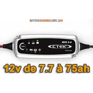 alimentation électrique monture (batterie voiture) + chargeur Bat. Chargeur-batterie-ctek-mxs-36