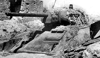 La tactique des tanks enterrés de l'Armée Rouge T34_10