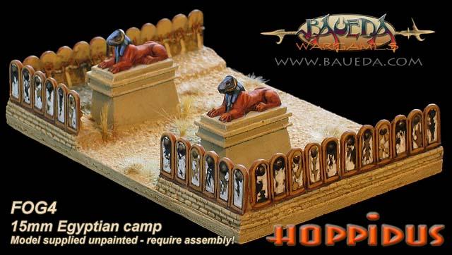 Campement Egyptien 15mm Fog4