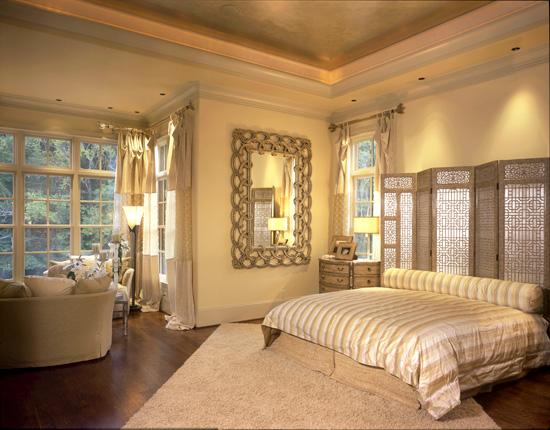 غرف نوم باللون الاصفر والبرتقالى الناعم 34