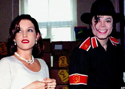 Immagini Michael e Lisa Marie Presley 46716_2