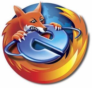 Cosmetic Changes Firefox-eating-ie