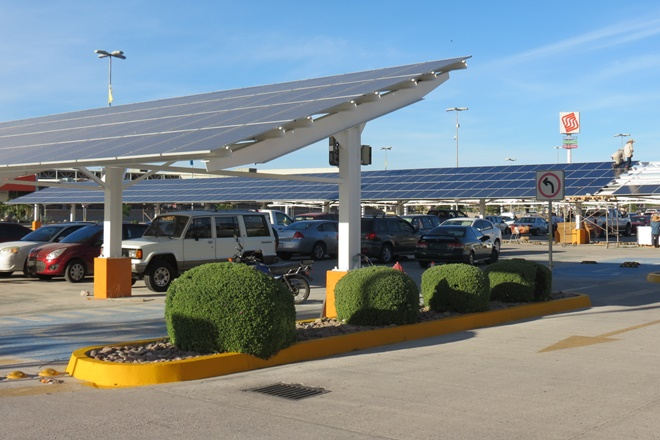 solar updates reflective and PV for the world Paneles-solares-paseo-la-paz