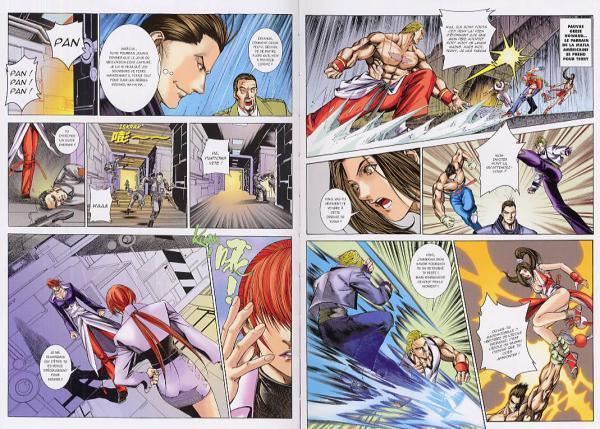 The King of Fighters en manga 9782845804289_pg
