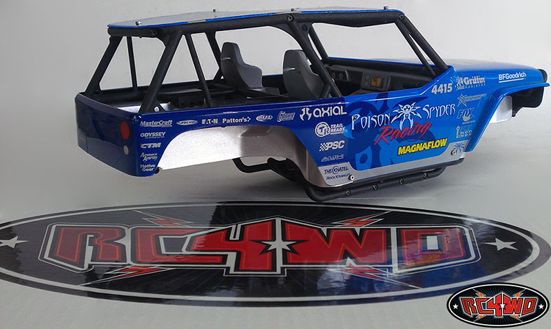 Inner Fender Set for Axial Wraith Z-B0042-11