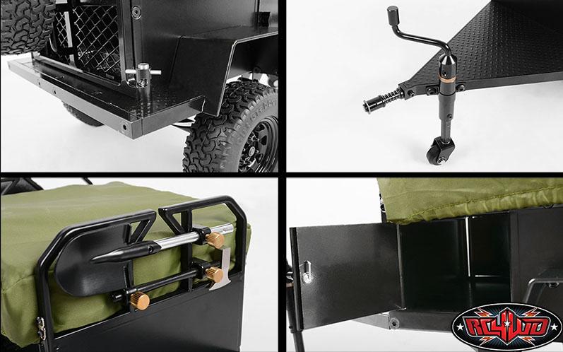 [nouveauté] RC4WD Bivouac 1/10 Camping Trailer Tent Z-H0007-7