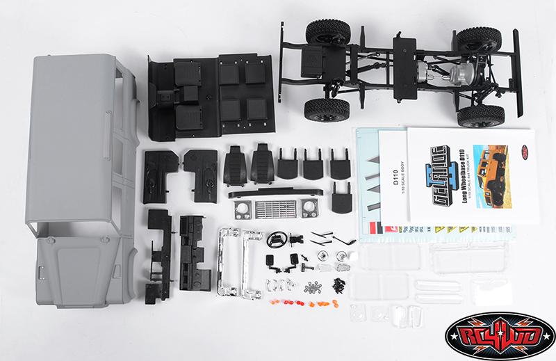 Gelande II D110 Truck Kit With Hard Body Z-K0047-9