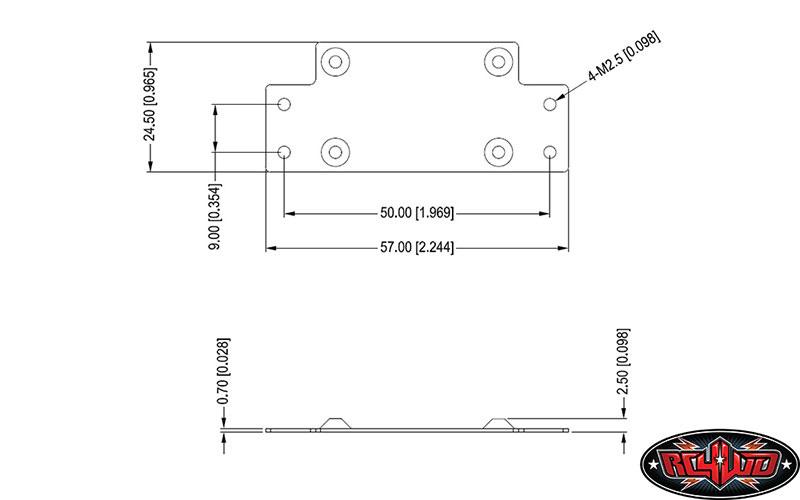 [nouveauté] RC4WD 1/8 Warn Zeon 10 Winch Z-E0069-10