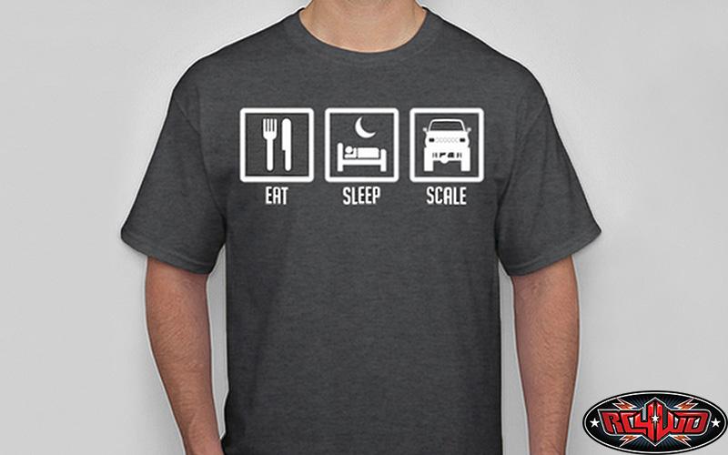 [nouveauté] RC4WD Eat, Sleep, Scale, T-Shirt Z-L0084-1