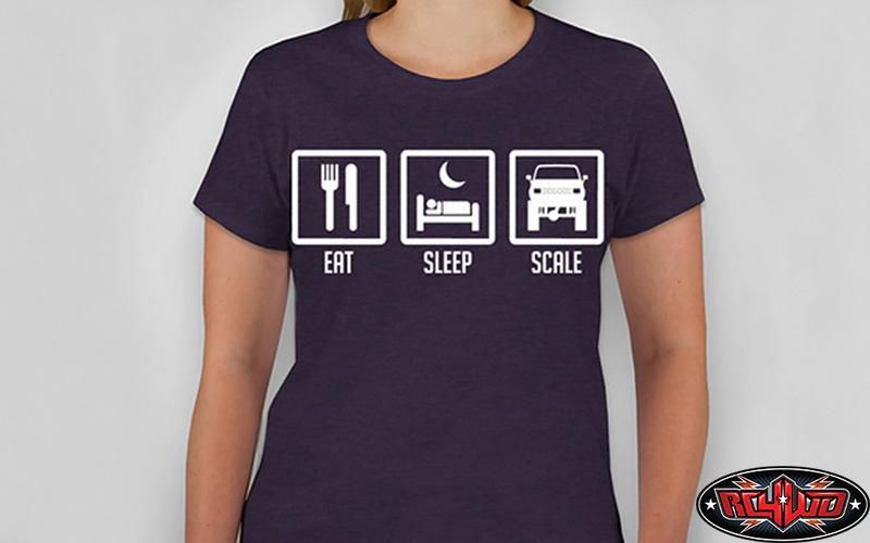 [nouveauté] RC4WD Eat, Sleep, Scale, T-Shirt Z-L0088-1