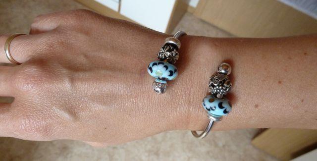 My birthday presents with a wonderful new bracelet Geb10