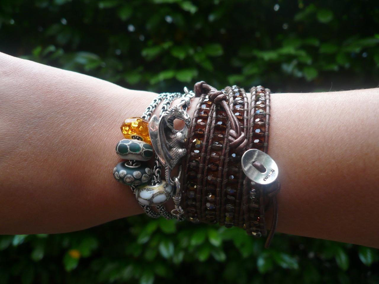 Favorite PERMANENT bracelet showcase! Wrappi10