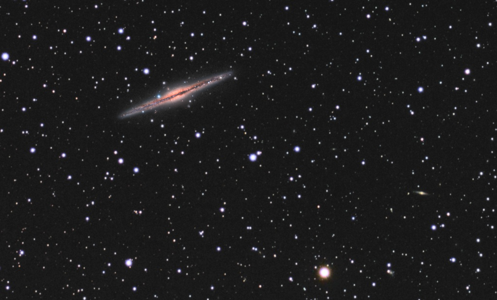 NGC 891: Challenge accepted! Couleu10_Optimized