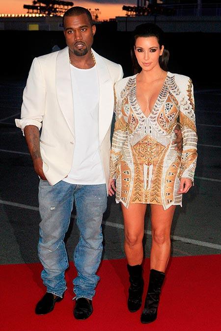 ¿Cuánto mide Kim Kardashian? - Altura - Real height Kim_kardashian_kanye