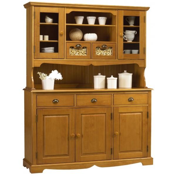 je trouve ce vaissellier superbe Bahut-vaisselier-3p-5t-2p-vitrees-style-anglais-pin-miel-38823