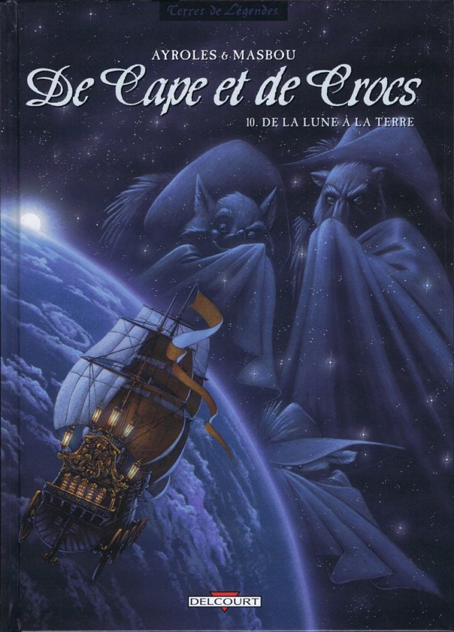 Plašt i očnjaci (De cape et de crocs) Couv_154044