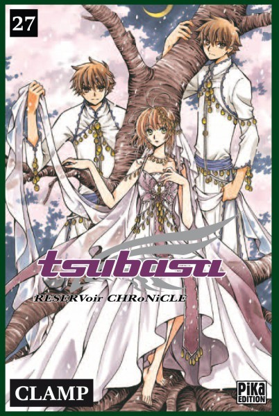 [Rech] Mangas ! Tsubasa Reservoir Chronicle Tomes 26 et 27 ! Couv_115129